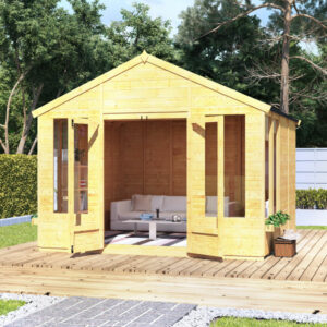 10 x 10 BillyOh Holly Tongue and Groove Apex Roof Garden Summerhouse
