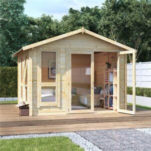 10 x 10 BillyOh Sasha Log Cabin Summerhouse - 19