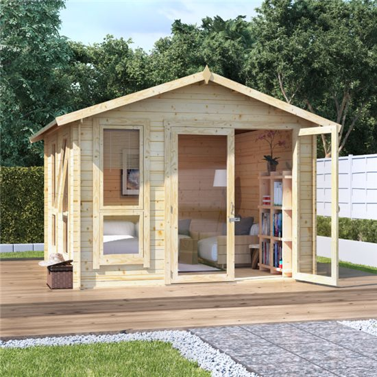 10 x 10 BillyOh Sasha Log Cabin Summerhouse - 19
