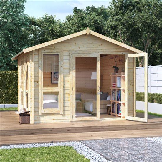 10 x 10 BillyOh Sasha Log Cabin Summerhouse - 28