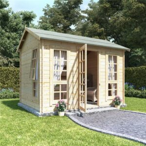10 x 8 BillyOh Riley Log Cabin Summerhouse - 28
