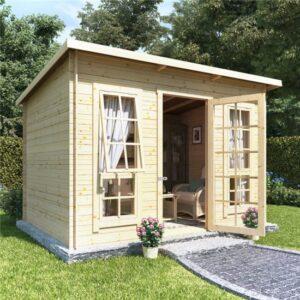 10 x 8 BillyOh Skinner Log Cabin Summerhouse - 19