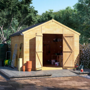 10x10 T&G Apex Shed - BillyOh Expert Workshop Windowless