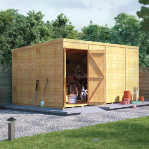 14x8 T&G Pent Shed - BillyOh Expert Workshop Windowless