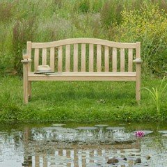 Alexander Rose Turnberry 2 Seater Bench