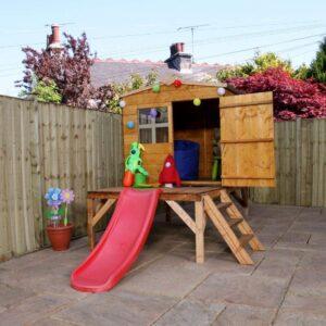 Bluebell Tower Playhouse & Slide