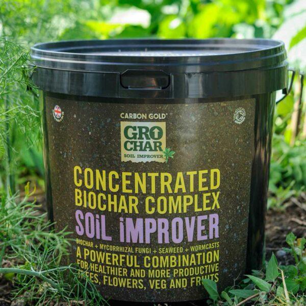 Carbon Gold Biochar Soil Improver 4.5kg