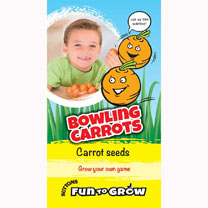 Carrot Seeds - Bowling Carrots (Rondo)