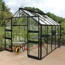 Eden Blockley Greenhouse - 8' x 10'