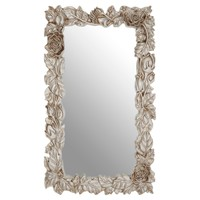 Fifty Five South πpe; Marseille Champagne Rose / Leaf Wall Mirror