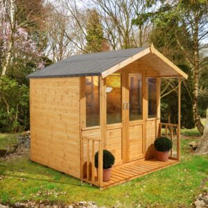Forest Garden 7 x 7 Maplehurst Summerhouse