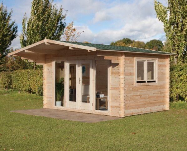 Forest Garden Abberley Log Cabin 4.0m x 3.0m