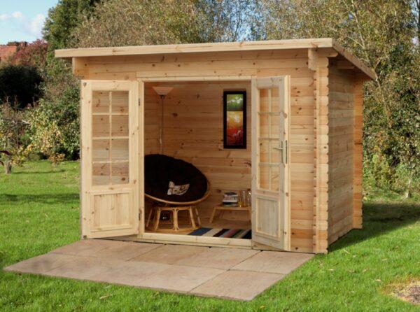 Forest Garden Harwood Log Cabin 3.0m x 2.0m (ASSEMBLED)