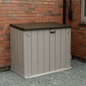 Forest Garden Large Garden Storage Unit - 842 litre (Taupe)