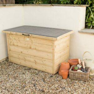Forest Garden Shiplap Garden Storage Box Pressure Treated