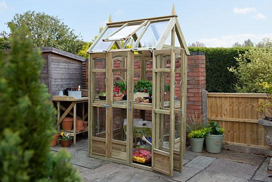 Forest Garden Victorian Walkaround Greenhouse with Autovent