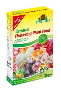 Neudorff Organic Flowering Plant Food with Mycorrhiza - 2 kg BOX