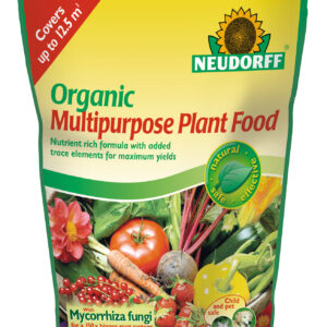 Neudorff Organic Multipurpose Plant Food with Mycorrhiza - 1.25 kg POUCH BAG