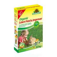 Organic Lawn Feed & Improver with Mycorrhiza from Neurdorff