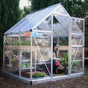 Palram HYBRID 6x6 - SILVER Greenhouse