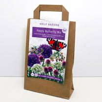 Happy Butterfly Flower Bulb Mixture in Paper Bag