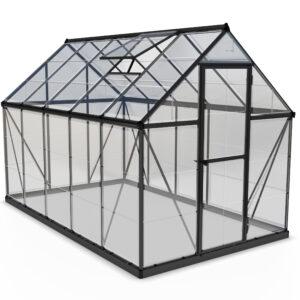 Palram Harmony 6x10 Greenhouse (Grey)