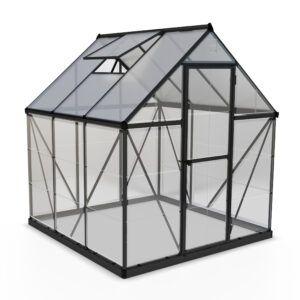 Palram Hybrid 6x6ft Greenhouse (Grey)