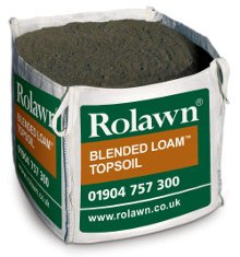 Rolawn Blended Loam Topsoil (1m³ Bulk Bag - 1,000 litres approx volume when packed)