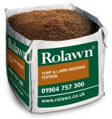Rolawn Turf & Lawn Seeding Topsoil (0.73m³ Bulk Bag - 730 litres approx volume when packed)