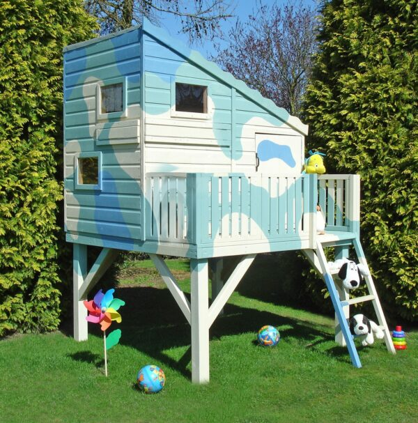 Shire Command Post Platform with Playhouse