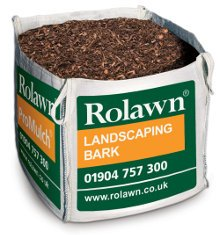 Rolawn Landscaping Bark (1m³ Bulk Bag - 1,000 litres approx volume when packed)