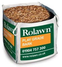 Rolawn Play Grade Bark Bag (1m³ Bulk Bag - 1,000 litres approx volume when packed)