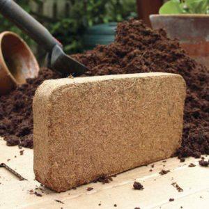2x9 Litre Bricks Compressed Coir Compost
