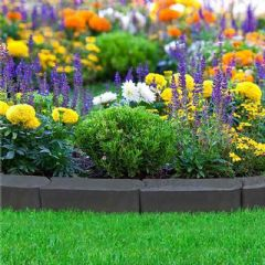 3.6m Stomp Edge Rubber Lawn Edging