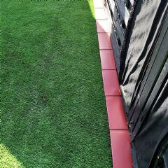 5m EasyEdge Artificial Grass Edging - Terracotta - H5cm