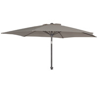 Alexander Rose 2.4m Portofino Grey Garden Parasol with Tilt