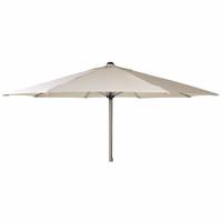 Alexander Rose 2.5m Avant Stainless Steel Round Garden Parasol - Ecru