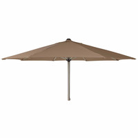 Alexander Rose 2.5m Avant Stainless Steel Round Garden Parasol - Taupe