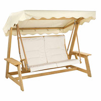 Alexander Rose Olefin Swing Seat Cushion - Ecru