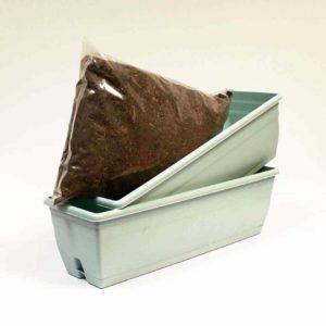 Aquamarine Trough - Set of 2 + Compost Kit