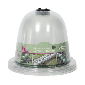 Baby Victorian Bell Cloche Pack of 3
