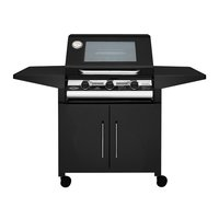 BeefEater 1000E Series 3 Burner Barbecue with Cabinet Trolley