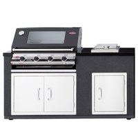 BeefEater Artisan Ex-Display Outdoor Kitchen Signature 3000E 4 Burner BBQ Module