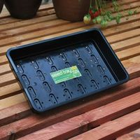 Black Seed Trays & Propagation Lids