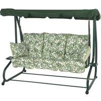 Bracken Outdoors Cotswold Leaf Bed Hammock Garden Swingseat