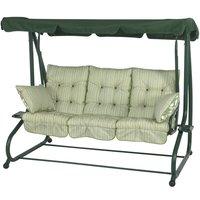 Bracken Outdoors Cotswold Stripe Bed Hammock Garden Swingseat