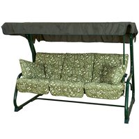 Bracken Outdoors Country Green Bed Hammock Garden Swingseat