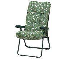 Bracken Outdoors Deluxe Country Green Recliner Garden Chair