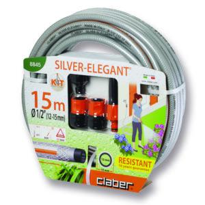 "Claber Silver Elegant Kit "" (13mm) 15M Hosepipe"