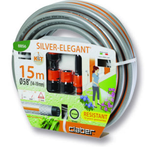 "Claber Silver Elegant Kit ?"" (20mm) 15M Hosepipe"